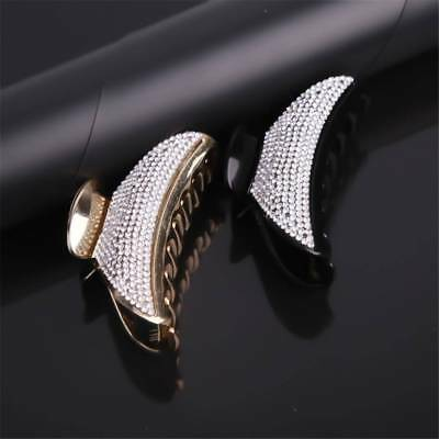 Large Hair Claw Full Crystal Women Hairs Clip Hairpin Rhinestone Hair Clamp