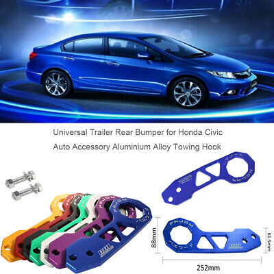 Trailers Car Modification JDM Trailer Hook Universal Trailer Rear Bumper S5T1