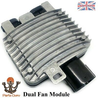 For Ford Mondeo Galaxy S-Max Dual Cooling Fan Relay Radiator Control Module