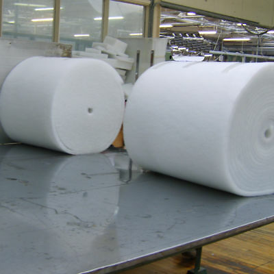 Premium Polyester Wadding Roll for Quilting Upholstery Padding 27 Inch Wide By m