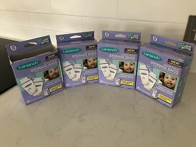 BNIB Brand New Lansinoh Breastmilk Storage Bags 3 Boxes Available