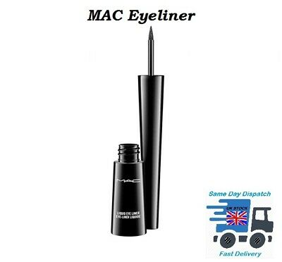MAC LIQUID EYELINER BLACK CONTOUR LINER ✅100% BRAND NEW BOXED SALE UK Seller