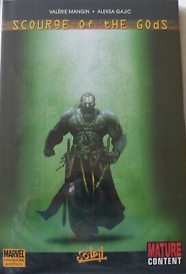 Scourge of the Gods - Premiere Edition Hardcover Graphic Novel