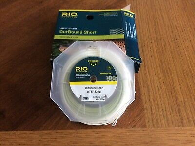 Rio Outbound Short WF8F freshwater fly line new in box, great for long distance