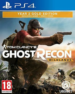 Ghost Recon Wildlands Year 2 Gold Edition (PS4) IN STOCK New & Sealed UK PAL