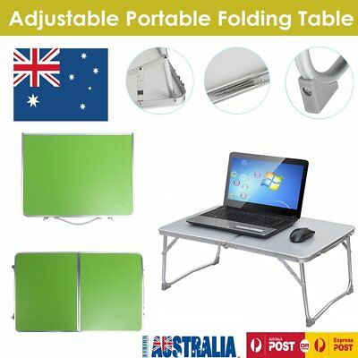 Folding Portable PC  Table Laptop Stand Camping Desk Tray on Bed Adjustable