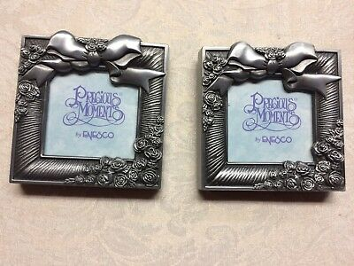 NWOT Two Silver Metal Precious Moments Picture Frames