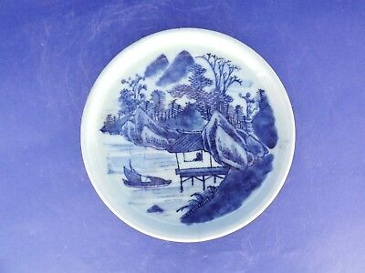 Chinese Blue and Celadon Dish