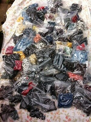 Huge Joblot Of Vintage Buttons Inc. Some Toggles And Buckles 60`s 70`s (A)
