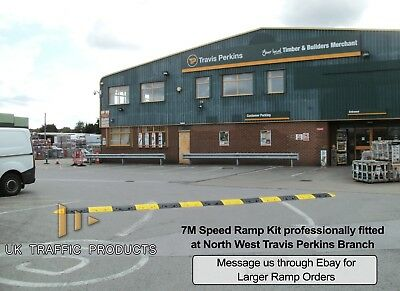 Professional Speed Bump / Ramp Kit (75mm) - All Sizes