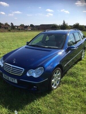 Mercedes C320 CDI Elegance SE Auto Estate Blue 1 owner