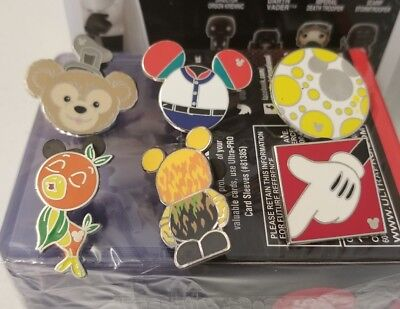 Disney Trading Pins lot of 6, US Seller 100% Tradable NO DOUBLES