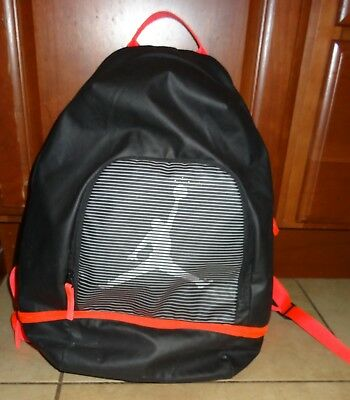 125e92c570a Nike Air Jordan Jumpman Graphic Backpack Infrared & Wolf Grey 656910-010  EUC KH