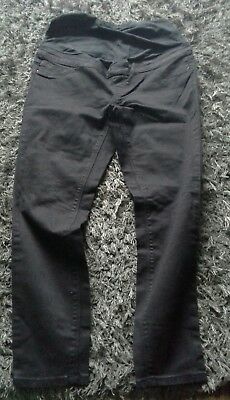 Ladies black over bump jeggings size 12