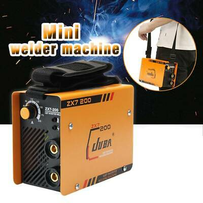 220V ZX7-200 Mini MMA ARC Welder DC IGBT Welding Machine Solder Inverter w/ Mask