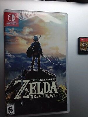 The Legend of Zelda: Breath of the Wild - Nintendo Switch, Brand New- Game Only
