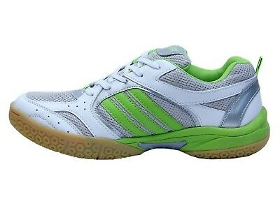 Tennis Shoes Speed Green Light Weight Breathable Raqcet Indoor Badminton In PU