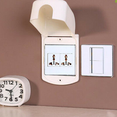 Electric Socket Protector Plug Flip Up Lid Cover Baby Proof Child Safety Box