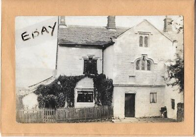 Early Real Photo Postcard Of A House In Turton Nr. Bolton