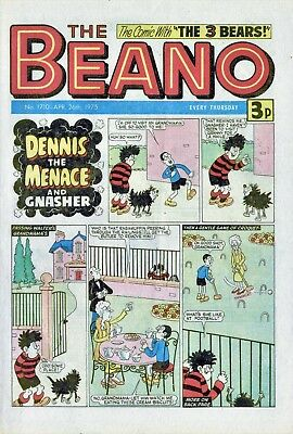 The Beano Comic #1710 April 26th 1975 - very good condition