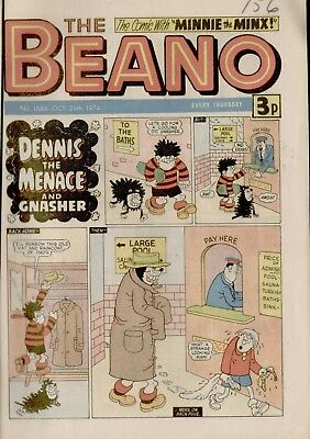The Beano Comic #1684 October 26th 1974 - very good condition