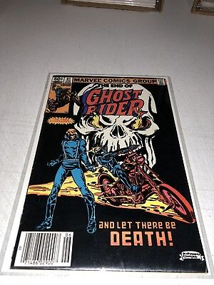Ghost Rider #81 Key Bronze Age Beauty Death of G.R. Johnny Blaze Last Issue!