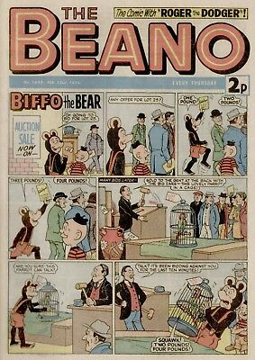 The Beano Comic #1649 February 23rd 1974 - very good condition