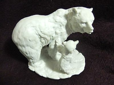 Vintage Kaiser Limited Edition Bear and Cub Figurine from the 50s-60s W.Germany