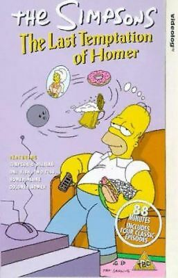 The Simpsons: The Last Temptation Of Homer [VHS] [1990] [VHS Tape] [1989]