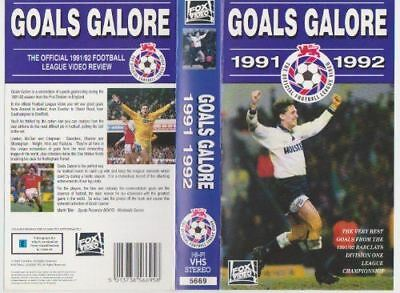 Goals Galore - 1991/1992 [VHS Tape]