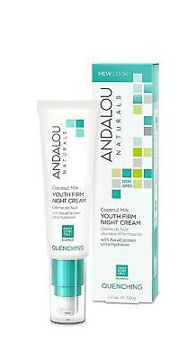 Andalou Coconut Milk Youth Firm Night Cream 50g