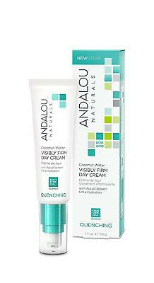 Andalou Coconut Water Visibly Firm Day Cream 50g