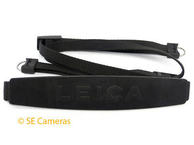 Genuine Leica M & R Camera Neck Strap With Fixings **excellent** Secameras Uk *