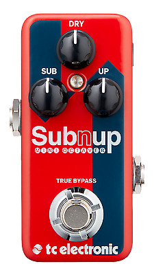 New TC Electronic SubnUp Mini Polyphonic Octave Guitar Effects Pedal Sub n Up
