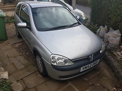 Vauxhall Corsa 1.0 52k MOT, full service history, V5, one key, AUCTION MUST SELL