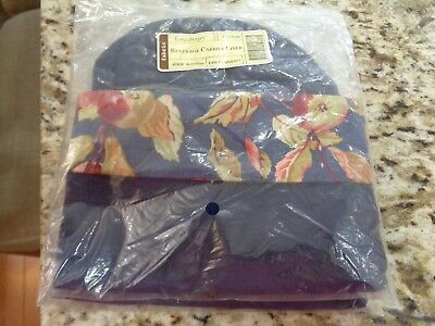 Longaberger Beverage Tote Liner Or Wine Bag -New Early Harvest