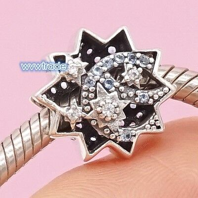 925 Sterling Silver When You Wish Upon A Star Charm Bead bracelet 2018 NEW