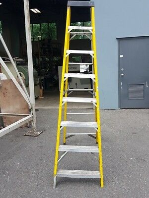 Louisville Ladder 7 ft. Fiberglass Ladder, Type II, 225 lbs Load Capacity