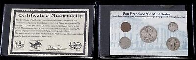 """San Francisco """"S"""" Mint Series Collection"""