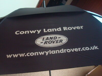 """Conwy Landrover2018 60"""" Double Canopy Wind Resistant Golf Umbrella / Golf Brolly"""