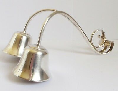 Danish Silver Plated Table Bell - Mid Century Modern Design - Carl Cohr ??