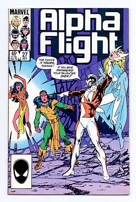 Marvel Comics: Alpha Flight #27 & #28 - Both Issues!