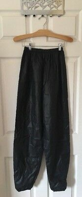 Adult Body Wrappers Size Large Ripstop Pants Trash Bag Pants - EXCELLENT Cond