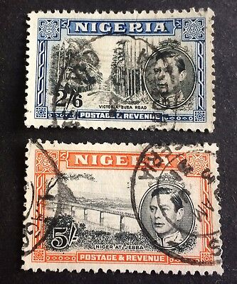 2 old stamps Nigeria