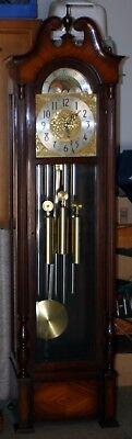 Herschede/General Electric 5 Tube Tubular Bell Hall (Grandfather) Clock