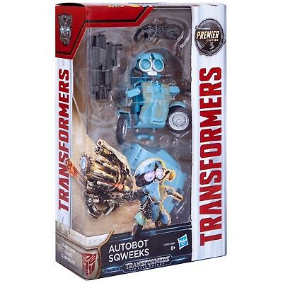 Transformers: The Last Knight Premier Edition Autobot Sqweeks Action Figure New