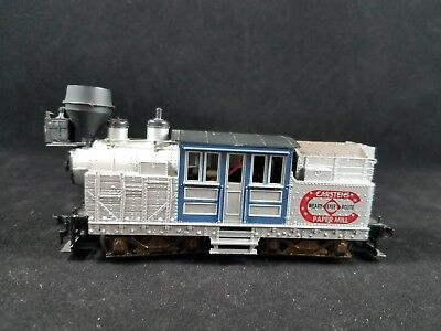 HO Scale Erie Carstens Paper Mill Steam Locomotive Shay, Unsure Brand