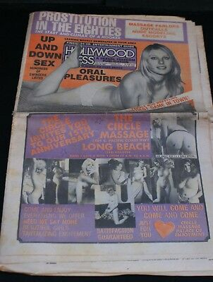 Old  Issue of Hollywood Press- 20/03/1981
