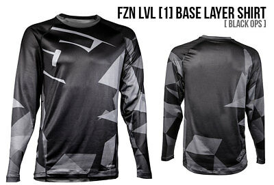 2018 - 509 Fzn Base Layer Snowmobile Shirt Cold Armor Black Ops 509-Bs1-Fzbo-Md