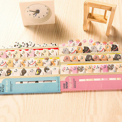 Memo Sticker Cartoon Animal Sticker Memo Bookmark Marker Tab Flags Index LH